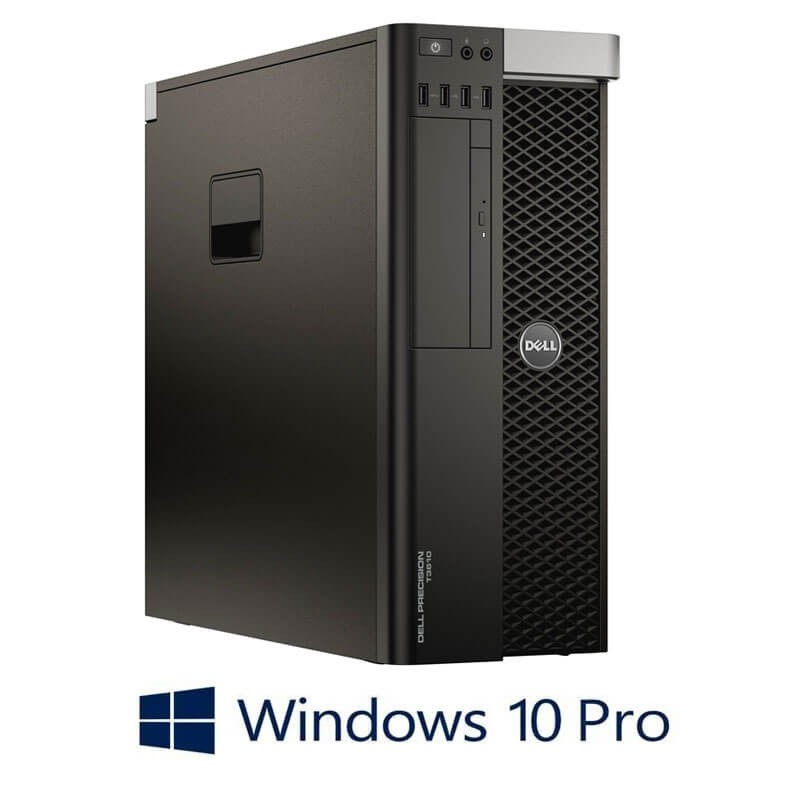 Workstation Refurbished Dell Precision T3610, E5-2640, Quadro K2200, Win 10 Pro