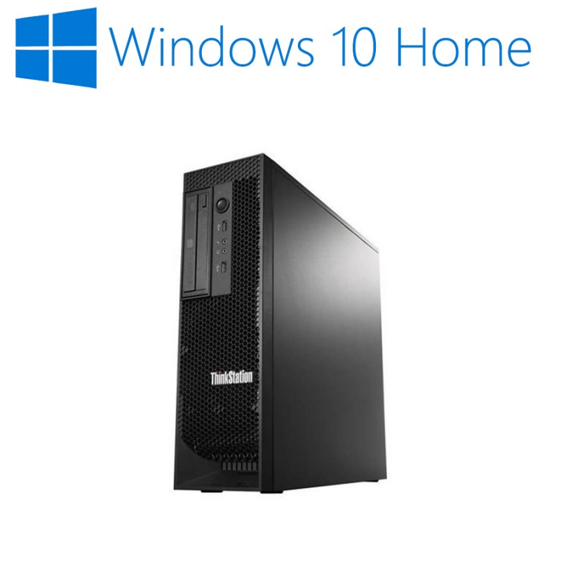 Workstation Refurbished Lenovo ThinkStation E31 SFF, i5-3550, Win 10 Home