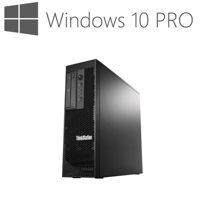 Workstation Refurbished Lenovo ThinkStation E31 SFF, i5-3550, Win 10 Pro