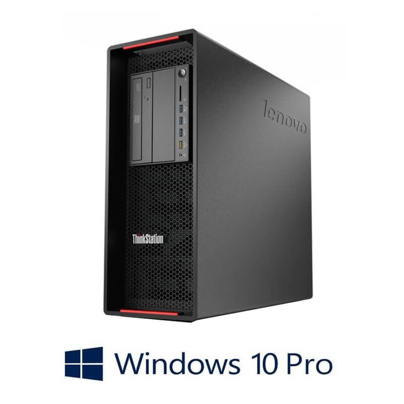 Workstation Refurbished Lenovo ThinkStation P500, E5-1620 v3, DDR4, Win 10 Pro